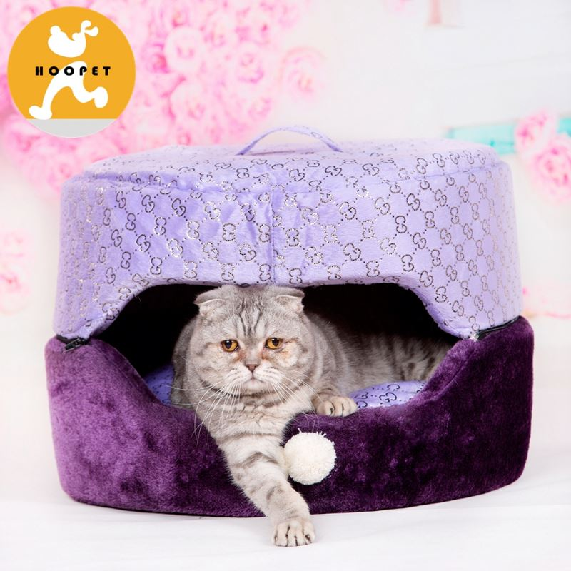 Premium warmer cave bed for cats