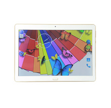 Smart touch screen 2 sim card 3g phone calling tablet , 10.1 inch android tablet pc /notebook