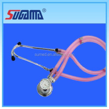 Reused stethoscope with soft ear tip