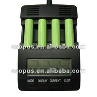 AA/AAA,C,D smart battery charger with LCD display