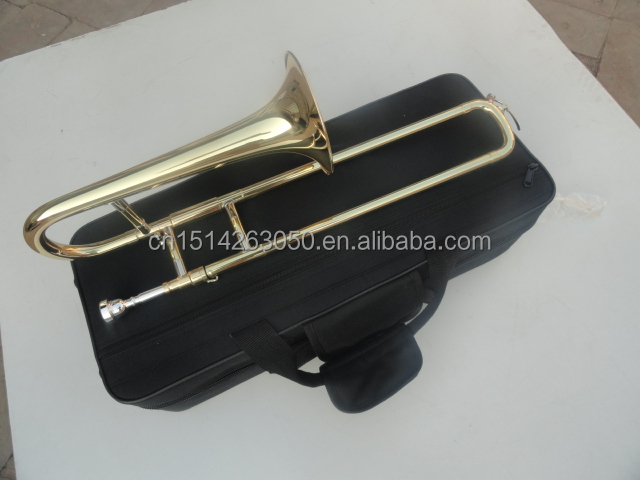 TB-G06 Brass Musical Instruments Trombone Eb Trombone Gold Soprano Trombone For Kids
