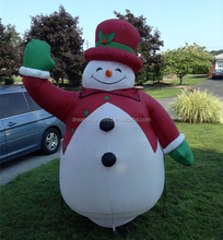 2017 Hot sale inflatable snowman, inflatable christmas for decoration