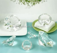 Optical wholesale high quality Virgin Crystal Glass pure Diamond for Wedding Gift Souvenirs