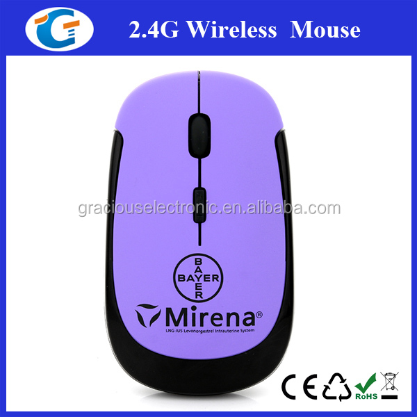 computer hardware flat wireless computer mouse