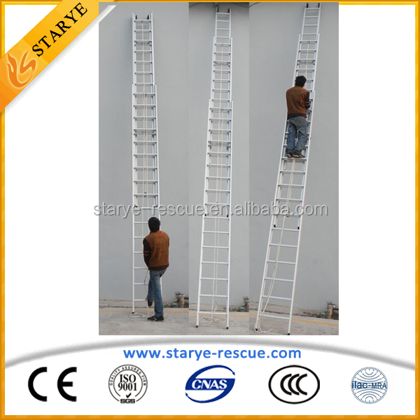 High Building Escape Firefighting Extension Ladder