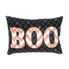Hot Sale Halloween Chair Pillow Case Decoration Glitter 3d Cushion Cover