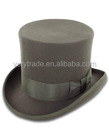 cce337e953b Wholesale Chaplin Wool Felt Top Hat Men Hats Charm Top Hat - Buy ...