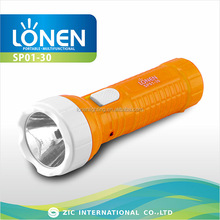 LONEN cheap price 0.5W led rechargeable emergency safety power torch light focus