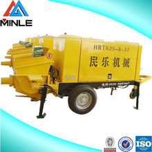 Electric or diesel truck mounted concrete pump for sell