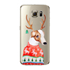 Romantic Ultrathin Fashion Merry Christmas Case Back Cover for Samsung Galaxy S6 Edge Plus Painting tpu case