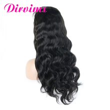 Aliexpress On Line 100 Brazilian Virgin Remy Human Hair 360 Lace Frontal Wig Dirvims Lace wig Vendors