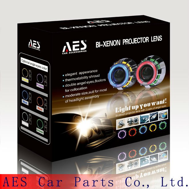 Hot Sale AES-G1 eagle eye projector headlight car vw polo projector headlight