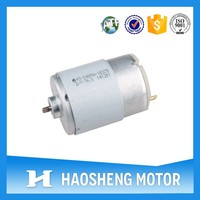 6V Low RPM Electric Motor For Small Electric Machine (RS-540PA)