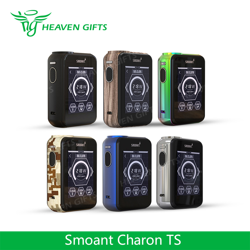 Massive 2.4-inch TFT/ CTP Touch Screen 218W Smoant Charon TS