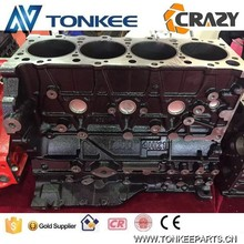 4HK1 engine block 4HK1 cylinder block ZX210-3 excavator engine block made in China for ISUZU
