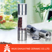 Fashion Top Hot selling Excellent Quality stainless steel black pepper grinder