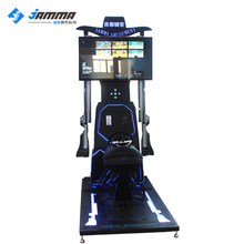 9d vr Cheap interactive horse ride racing simulator game machine
