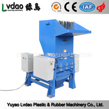 Plastic recycled noiseless 80-501kg/h plastic crusher machinery for film bottle