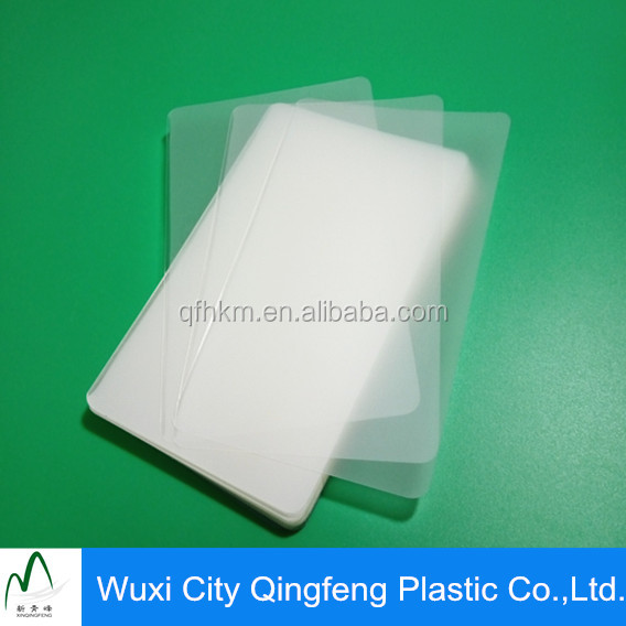 Polyester Laminated Film Sexy Hot Film For Index Card
