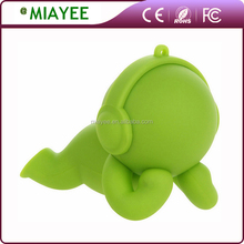 Interested Small Baby Cute Portable Rechargeable Lithium Battery Powered Speaker for Kids