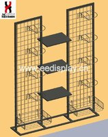 Design Metal Cap Stand/helmet Display Rack/motorcycle Helmet Racking Display Standing