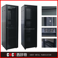 Custom made sheet metal fabrication stainless steel cabinet