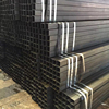 Hot sale square pipe railing welded black steel pipe square pipe