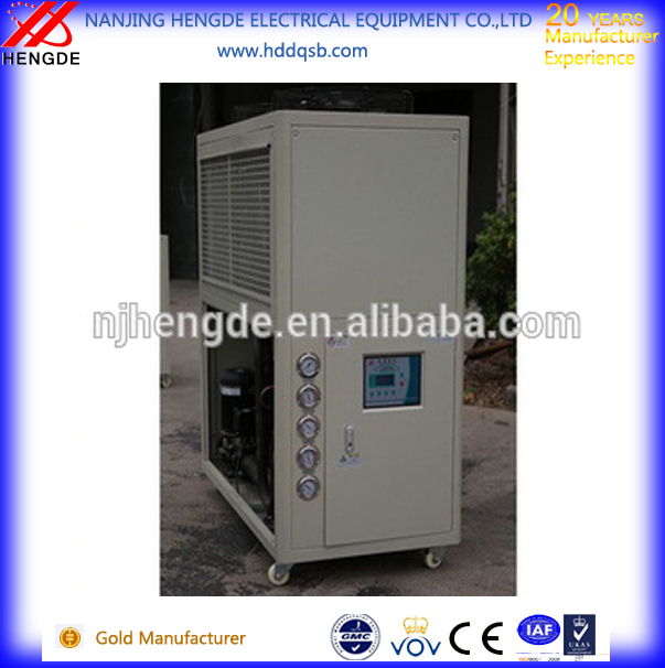 Industrial air cooled chiller to Kuala Lumpur