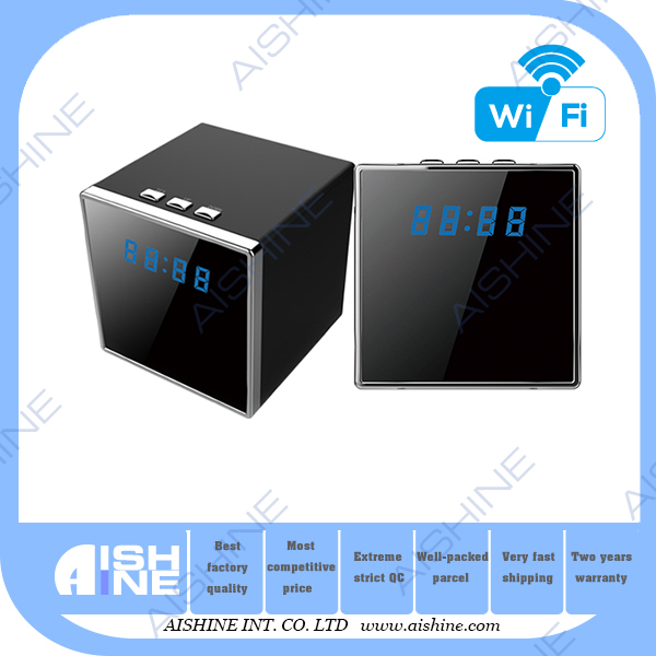 New business from china wifi security surveillance clock hidden camera take photo videos 3d digital camera