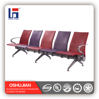 5 seat PU airport waiting room chairs used SJ9062