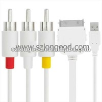 Multifunction av cable for iPod \ for iPhone