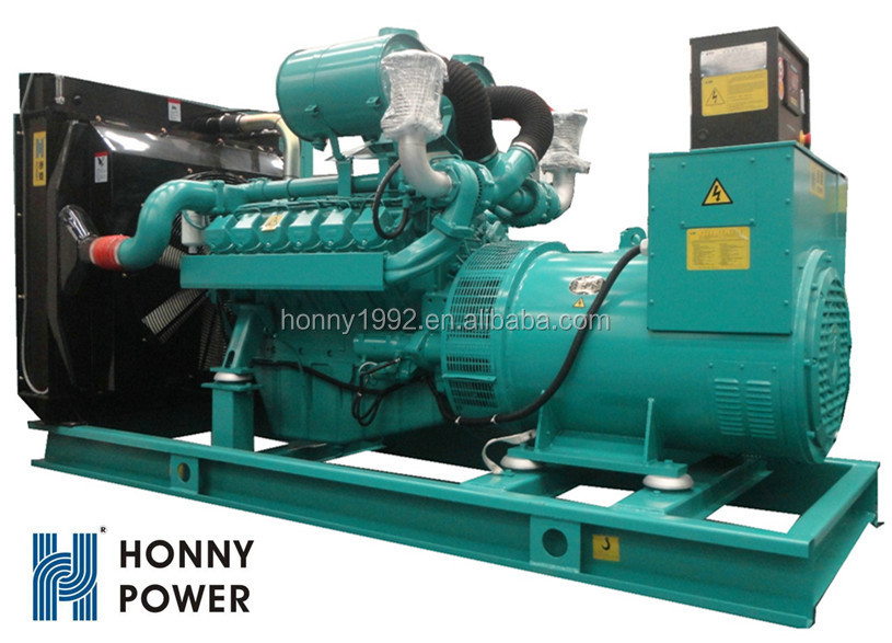 500kW 625kVA Power Two Fuel Mixture Generator 60Hz Diesel and Natural Gas