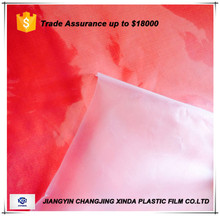 Food plastic packing film material