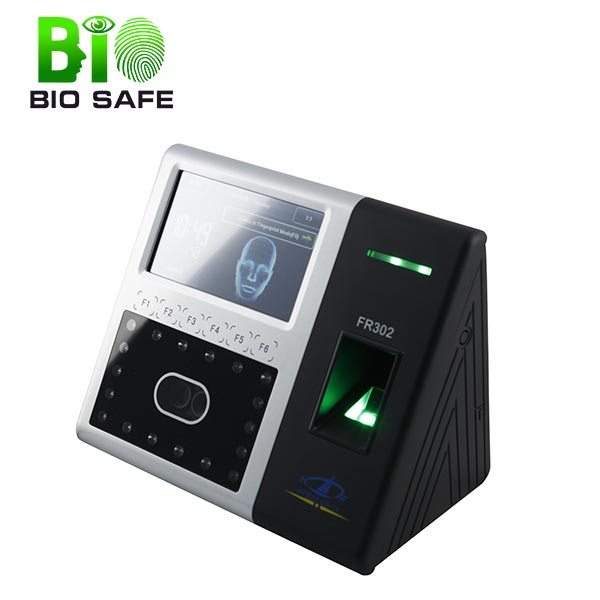(HF-FR302) Fast Speed Face Recognition Software Electronic Date Time Stamp Biometric Face Reader Time Attendance Machine