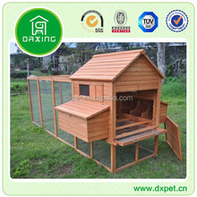 Wooden chicken coop for layers