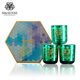 China Factory Wholesale Glass jar 3 wick gift set packaging