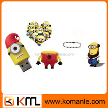 New product Minions 1GB cartoon anime usb flash drive accept paypal