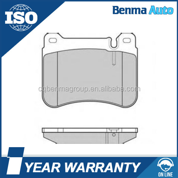 High Quality brake pad manufacturers 0044205120 D1121-8227 for C230 Sport 2005