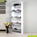 Full length shoe rack mirror with 5 drawers for Germany