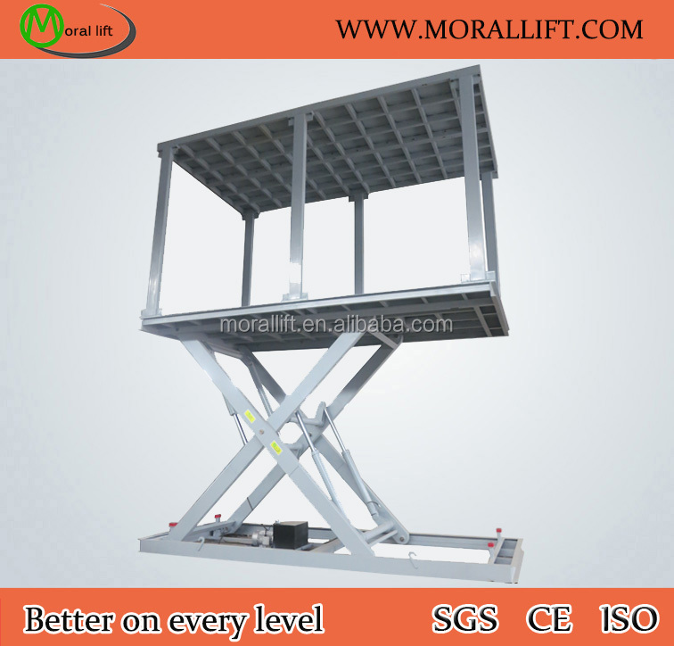 Smart Parking!!! Hydraulic Scissor Car Lift with CE Certification