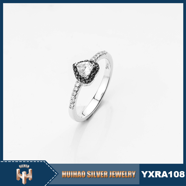 Factory price Cheap wholesale silver 925 diamond rings