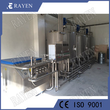 Food grade milk processing dairy beverage processing machinery ice cream production line