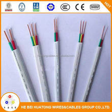 Best sell products PVC insulated flexible flat kabel elektrik with CE certificate