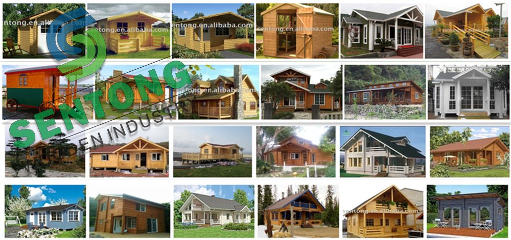 2017 Prefabricated Wooden House Log Cabin For Sale