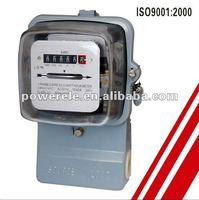 Anti-theft kwh meter analogue panel mounting