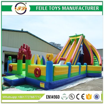 2017 inflatable playground rentals