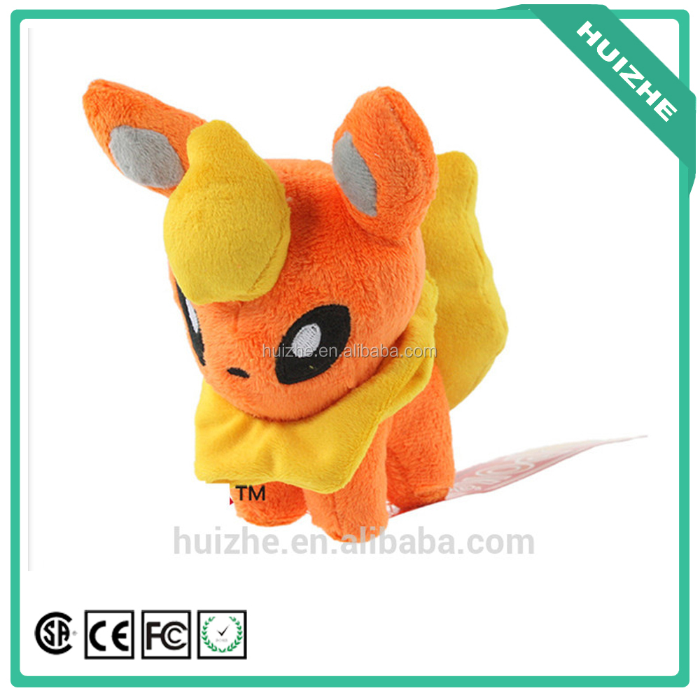 High quality peluche colorful cute pokemon plush for children and adults