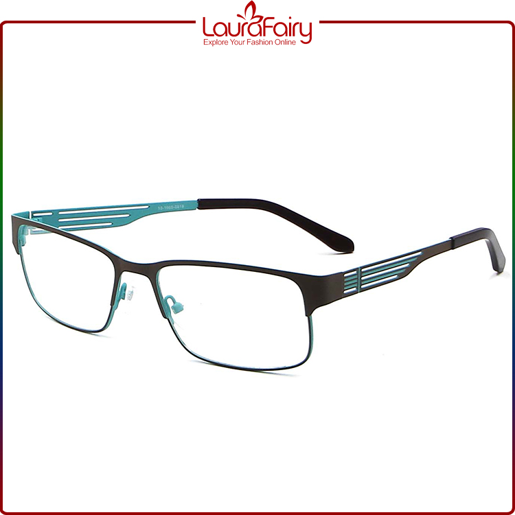 Laura Fairy High Quality Latest Fashion Young Colorful Metal Eyeglasses Optical Frame