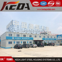 Two Storeys Building Temporary Site Office Container Construction Labor Camp Accommodation