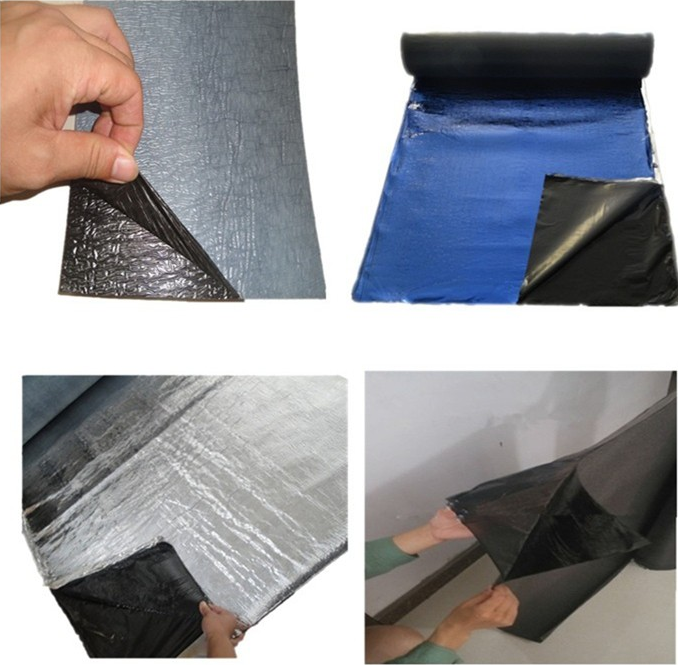 Waterproofing bitumen membrane for roof